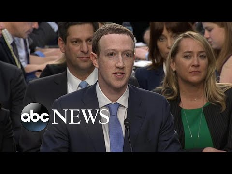 Facebook CEO Mark Zuckerberg answers questions, addresses possibility of regulation