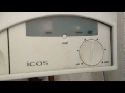 Ideal icos system boiler no power lights - London  plumber