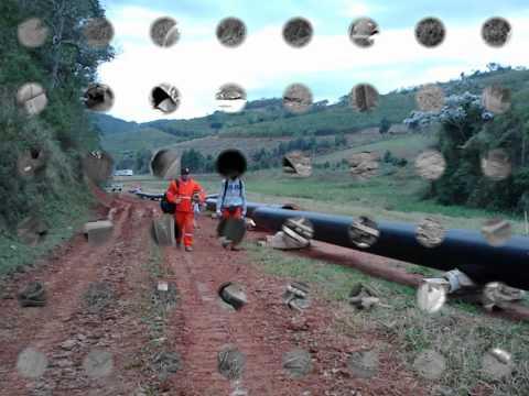 Terceiro Mineroduto - Consorcio GDK & SINOPEC - Progresso de Solda descendente.wmv