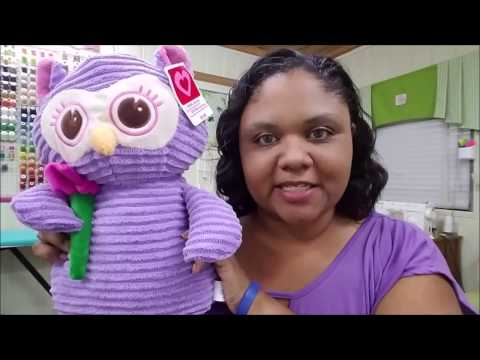 DIY How to Embroider on a stuffed animal or Teddy Bear by The Baby's Booty Embroidery Blanks