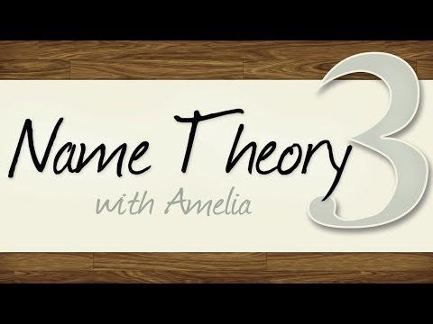 Name Theory 3 - Fun-Seeking vs. Sorrowful Names