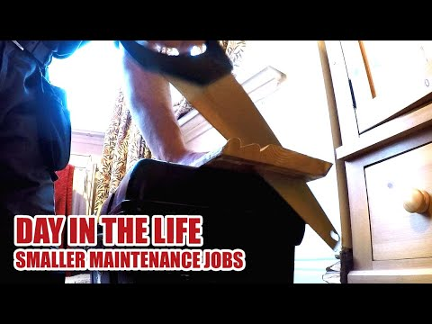 Smaller Joinery Jobs, DAY IN THE LIFE - Joinery Vlog Dec 2017 [91]
