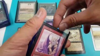 Proxy Vs Real card Magic the gathering How to spot fake mtg card.