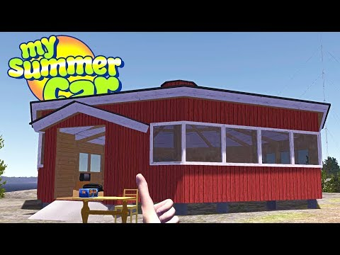 MY SUMMER BRAND NEW LAKE HOUSE! Moving Into the New Place - My Summer Car Gameplay Highlights Ep 100