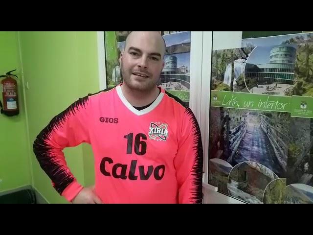 Post partido de Iago trala victoria ante o Embutidos Lalinense por 30 a 31