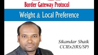 Weight & Local Preference - Video By Sikandar Shaik || Dual CCIE (RS/SP) # 35012