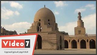 بالفيديو.. ما لا تعرفه عن مسجد أحمد بن طولون المطبوع على الـ