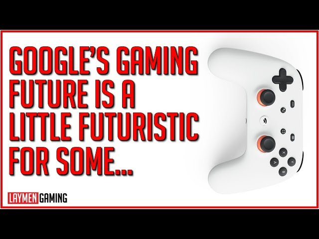 Google Reveals New Gaming Platform And Controller (RIP Australian Internet)