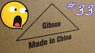 Unboxing An Authentic Gibson Les Paul... from China?   Trogly's Boxing Unboxing Vlog