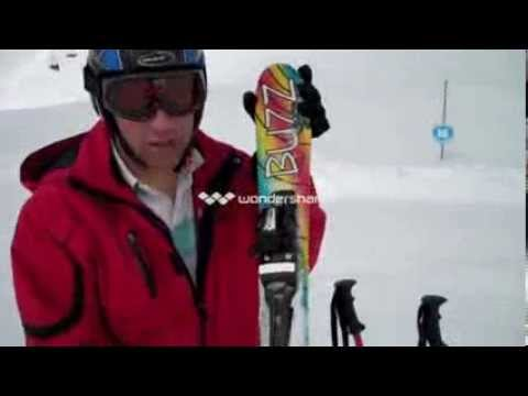 Buzz Atom Snow Blade Mini Skis On Demo In France, 1st Cut (to Be Re-edited)
