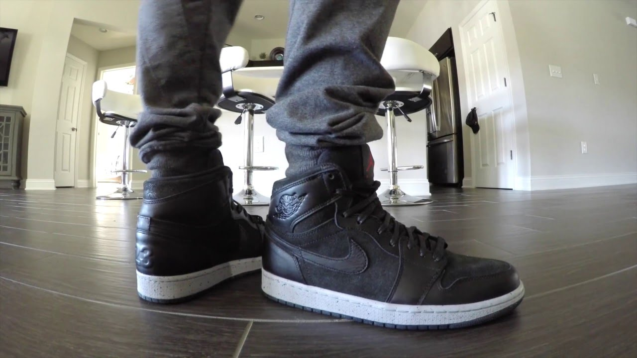 Nike Air Jordan 1 NYC 23 Review With On Feet - YouTube b72e295e04