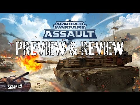 Armored Warfare Assault - Mobile Preview & Review
