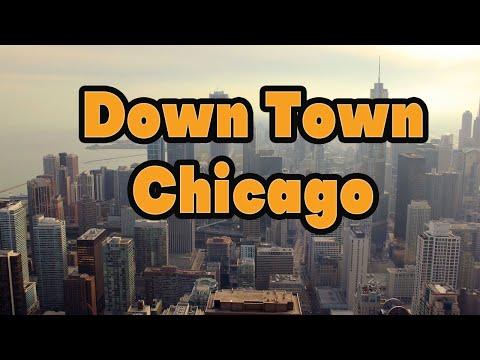 Chicago centar grada, zivot u Americi