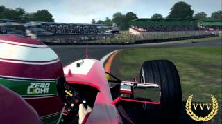 F1 2013 Eddie Irvine Brands Hatch Replay