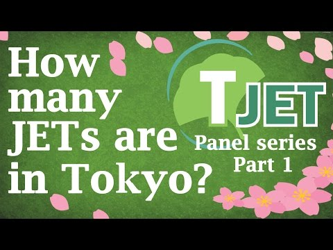 Tokyo JET panel Part 1: How many JETs are in Tokyo?