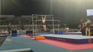First part of WAG podium training of the 2019 Melbourne WoldCup.