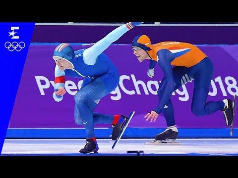Speed Skating | Men's 500m Highlights | Pyeongchang 2018 | Eurosport