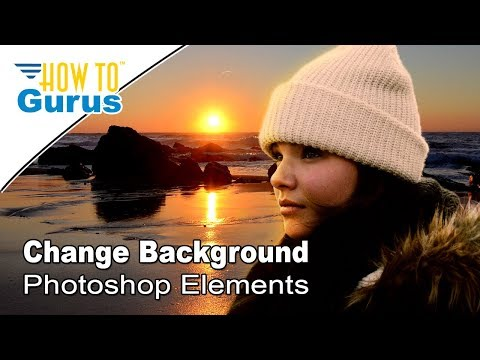 How To Use Layer Mask To Change The Background In Adobe Oshop Elements Tutorial