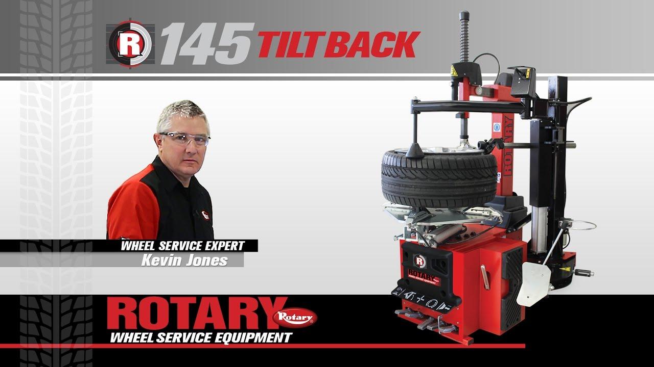 Rotary® R145 Tiltback Tire Changer Training