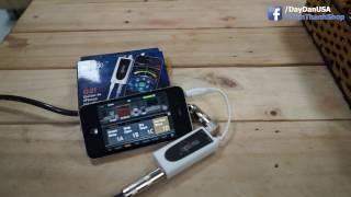 #TamThanhShop - Musedo G2i audio interface ( IOS - JamUP XT SETUP )