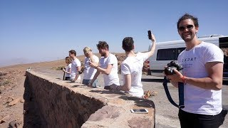 ROAD TRIP TO MARRAKECH from Sahara Desert - MOROCCO VLOG