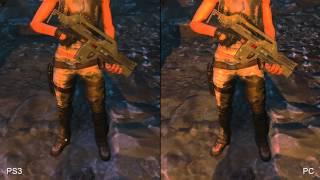 Aliens Colonial Marines: PS3 vs. PC Comparison Video