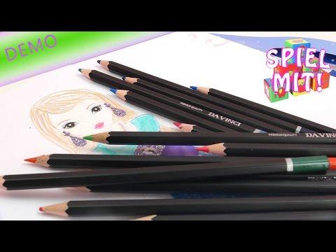 Topmodel zeichnen für Anfänger – Topmodel Glamour Special Malbuch Demo