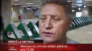 Metrou Stiri - Greva la Metrou