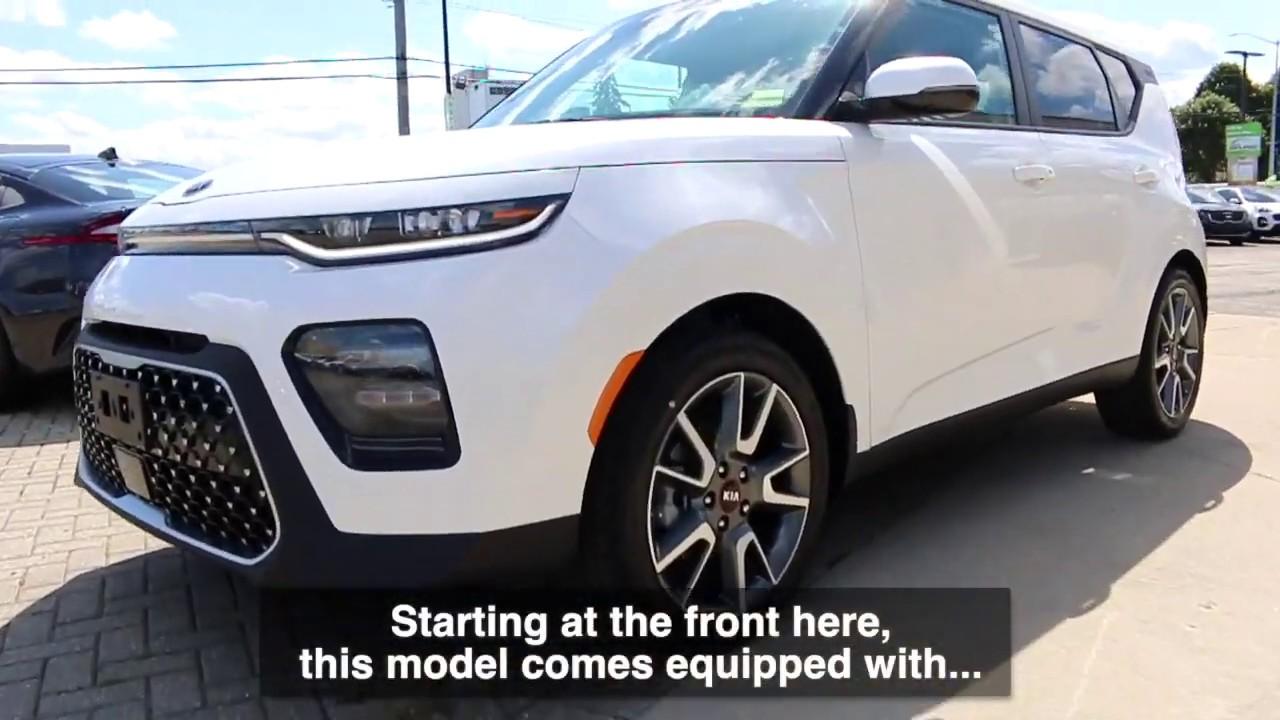 2020 Kia Soul Ex Limited Snow White Pearl Walkaround Youtube