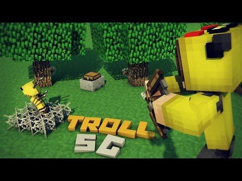 YENİ TROLL İTEMLERİ İLE DÜNYAYI PATLATTIM! (Minecraft : TROLL Survival Games #20)
