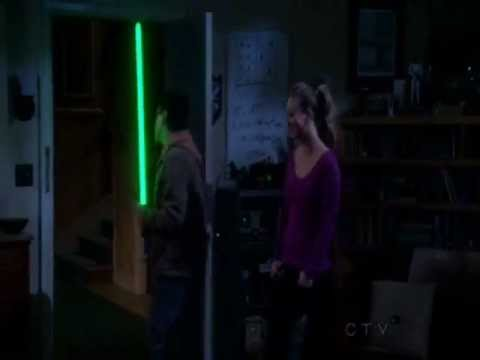 Lightsaber As Glow Stick - The Big Bang Theory S5x15