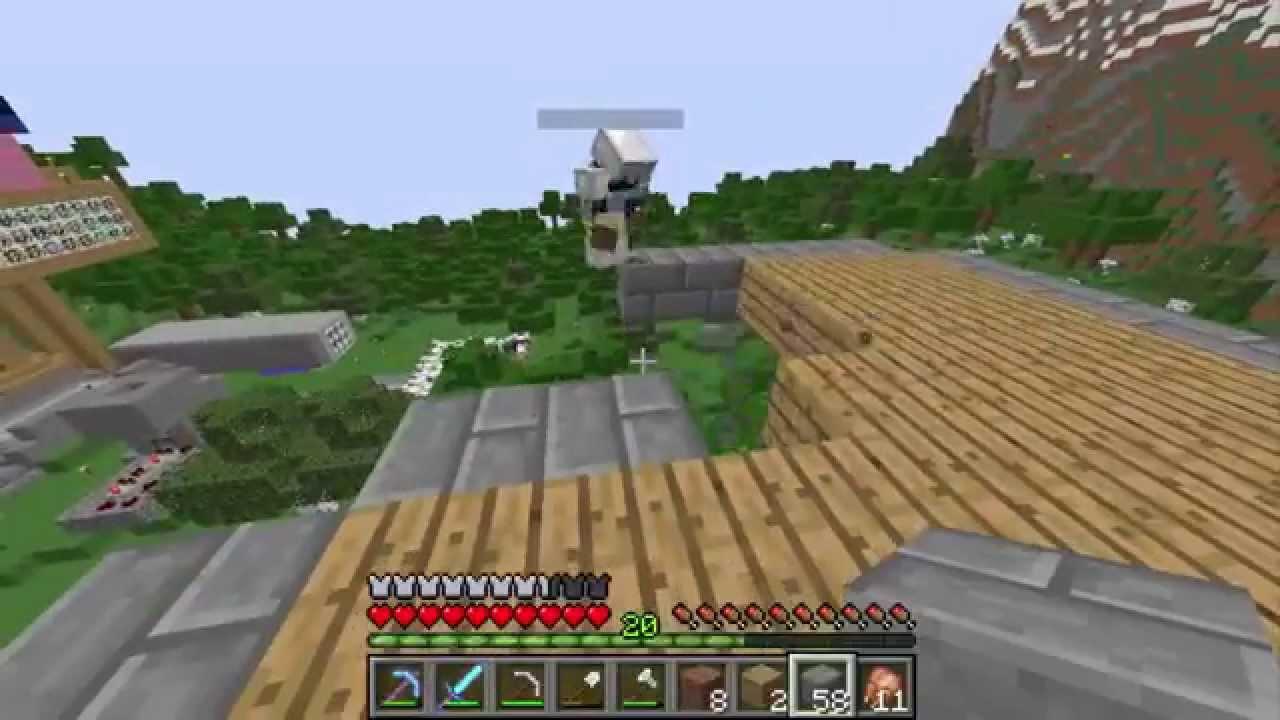 Minecraft 8 la casa sull 39 albero youtube - Casa sull albero minecraft ...