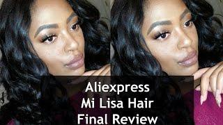 ALIEXPRESS  Mi Lisa Brazilian Loose Wave Final Review