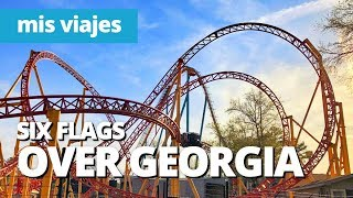¡Atascado en una montaña rusa! | Six Flags Over Georgia
