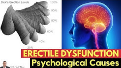 💋Psychological Causes of Erectile Dysfunction - by Dr Sam Robbins