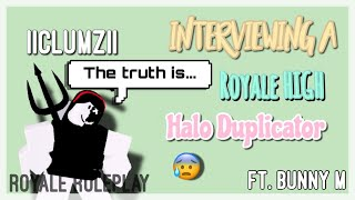 Interviewing iiclumzii-The Halo Duplicator | Does she want to BAN RH YOUTUBERS?| FT. Bunny M.
