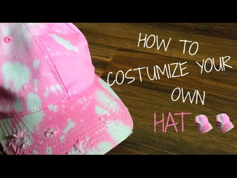 How To Customize Your Own Hat