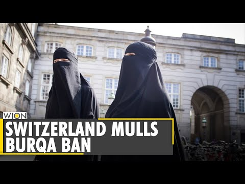 Switzerland citizens favour 'burqa ban', poll shows ahead of public vote   World News   WION News