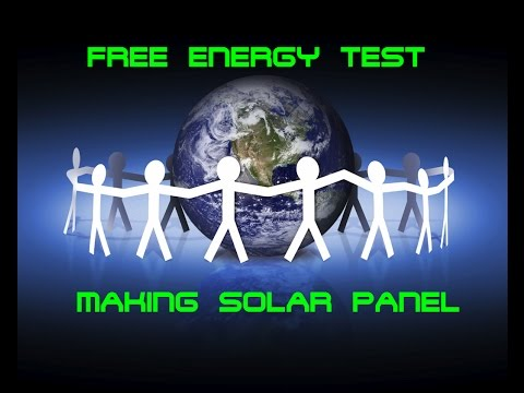SOLAR PANEL : SOLDERING SOLAR MODULS PART 2/3 HD