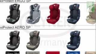 Видео обзор автокресел: HEYNER MaxiProtect ERGO SP и MaxiProtect AERO SP
