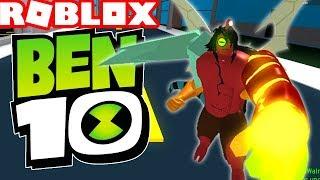 *HUGE UPDATE* NEW Ben 10 Arrival of Aliens GAME in ROBLOX!