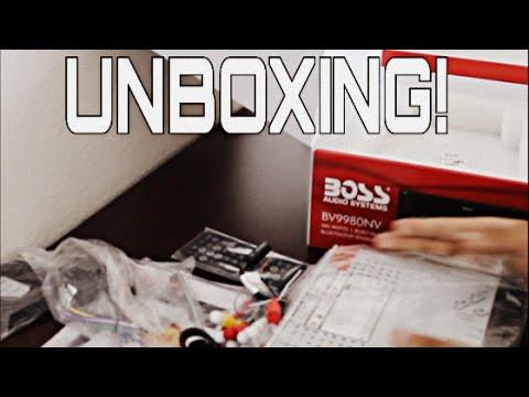 UNBOXING | Boss Audio Radio W/ GPS | BV9980NV