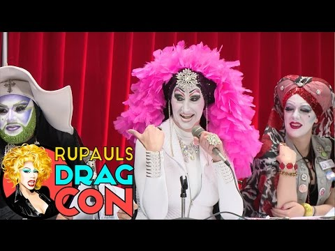 DRAGCON TEASER!: Sisters of Perpetual Indulgence w/ Sister Roma, Sister Unity, Sister Bearoncé Knows