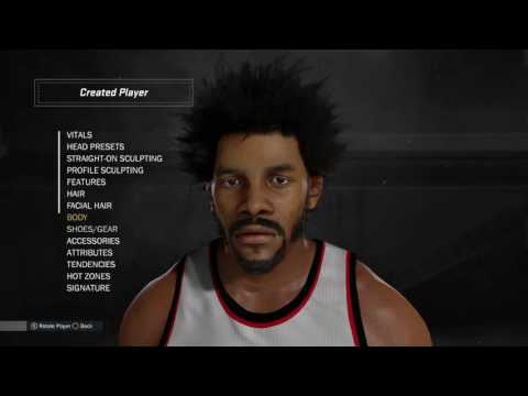 NBA 2K17 Creation Tutorial Artis Gilmore