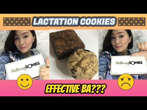 Lactation Cookies Effective Ba??? Milking Bombs Review + Breastfeeding Tips | Amazing Grace