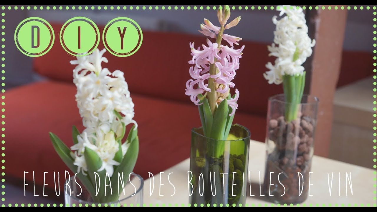 diy plantes dans des bouteilles de vin youtube. Black Bedroom Furniture Sets. Home Design Ideas