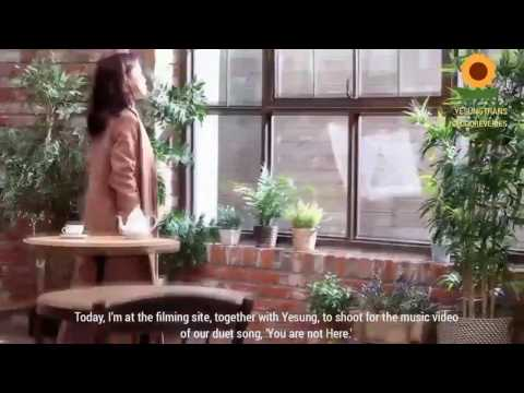 [ENG SUB] Yesung X ALi - 'You Are Not Here' MV Making