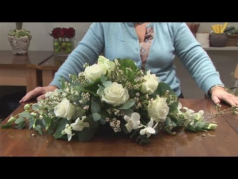 How To Do A Funeral Flower Arrangement Youtube
