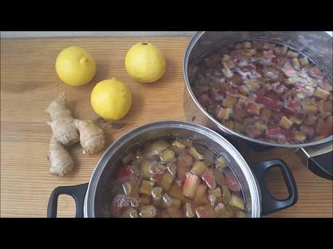 Варенье из ревеня, несколько рецептов ароматного варенья