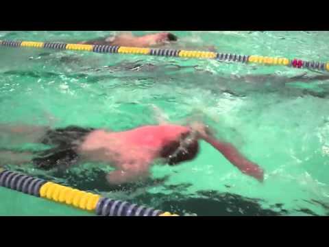 Belfast Area High School swim meet